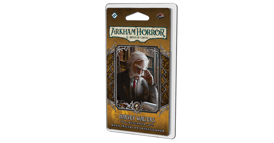 Arkham Horror - Harvey Walters Mazo de investigador de Fantasy Flight Games