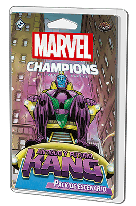 Marvel Champions - Antiguo y Futuro Kang de Fantasy Flight Games