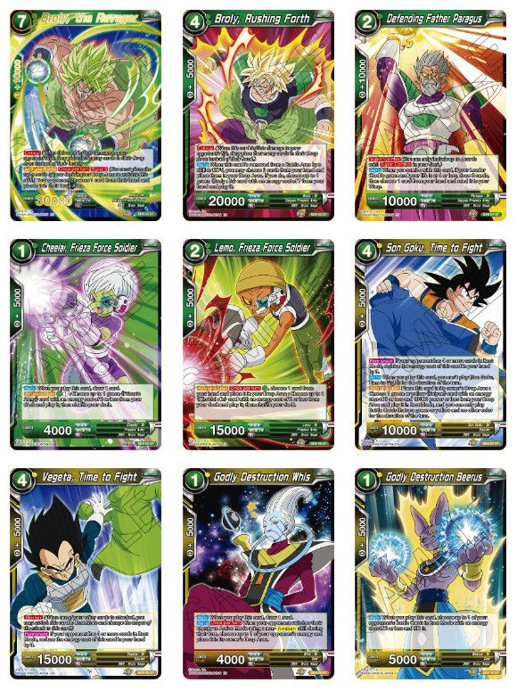 Dragon Ball Super Rising Broly Starter Deck