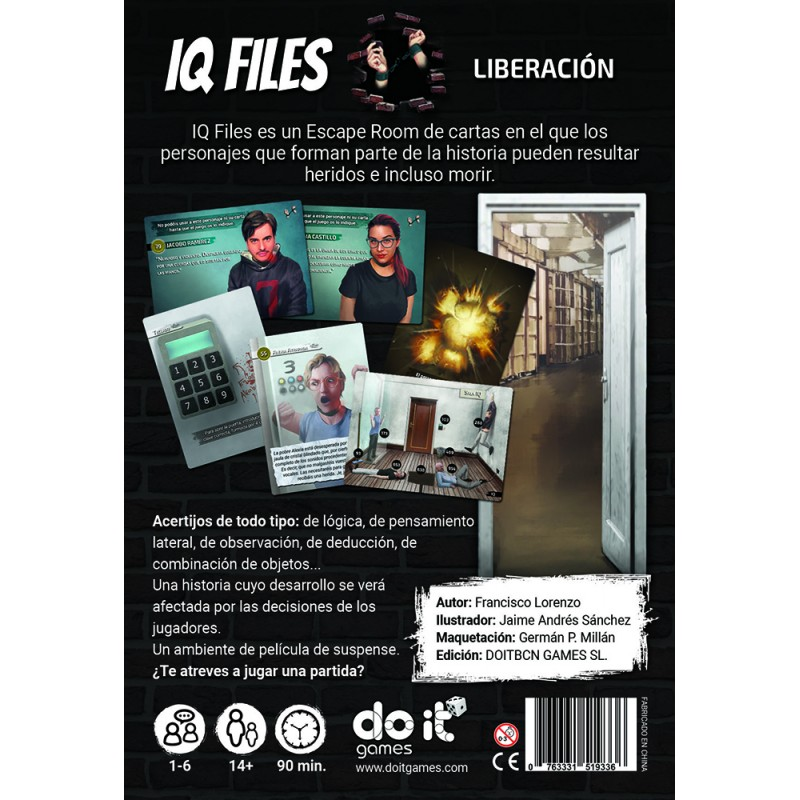 IQ Files - Liberación