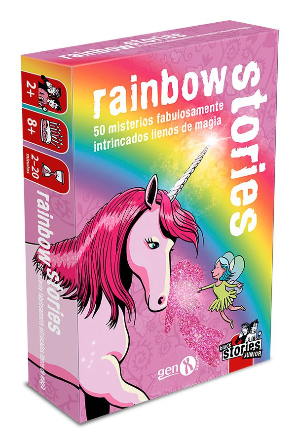 Black Stories Junior – Rainbow Stories