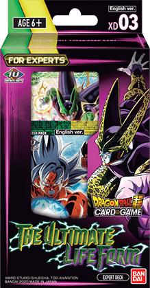Dragon Ball Super: The Ultimate Life Form Expert Deck