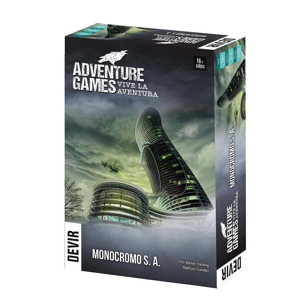 Adventure Games - Monocromo S.A.