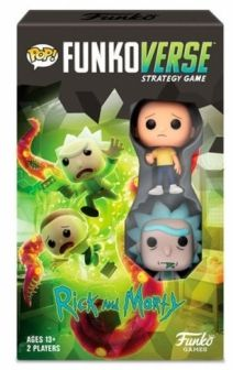 POP! Funkoverse Strategy Game - Rick and Morty 2 figuras Funko en Español