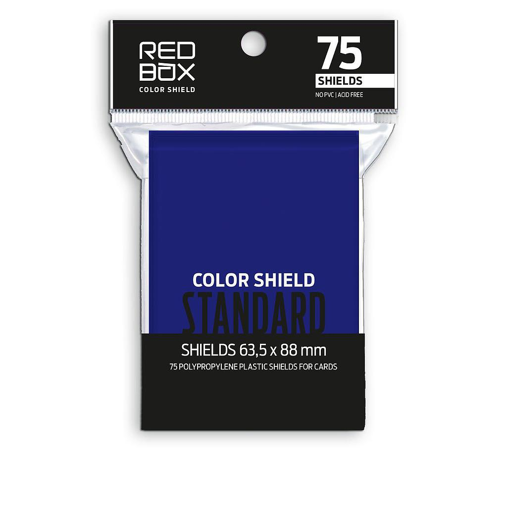 Fundas Color Shield AZULES STANDARD Matte 63.5x88mm  75u