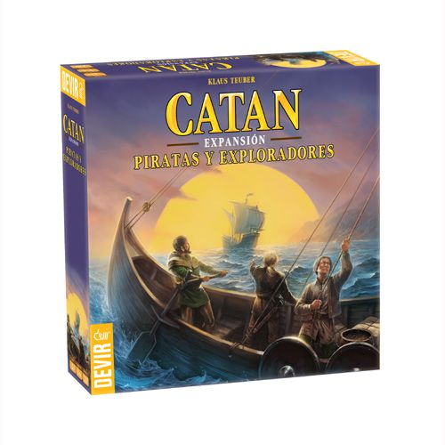Catan Piratas y Exploradores