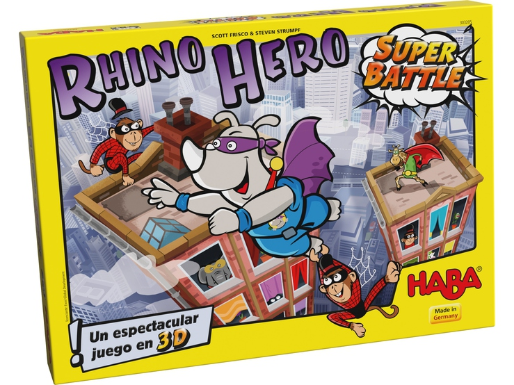 Super Rhino Super Battle 3D