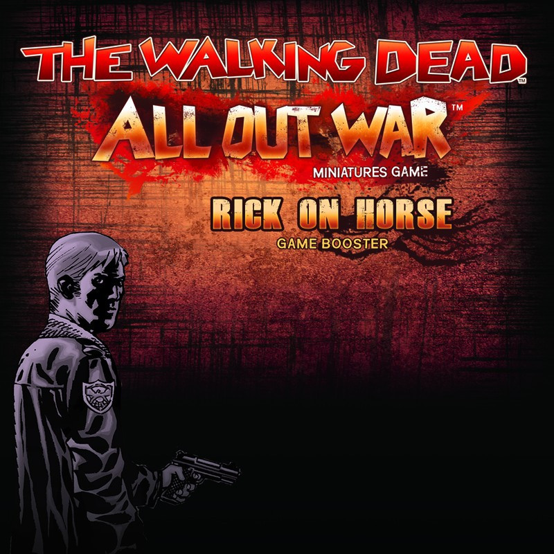 The Walking Dead Rick on Horse Booster