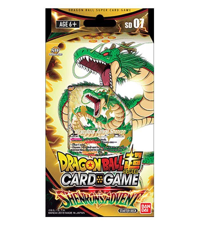 Dragon Ball Super: Shenron's Advent Starter Deck