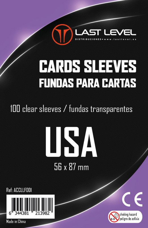 Fundas Last Level USA (56x87)