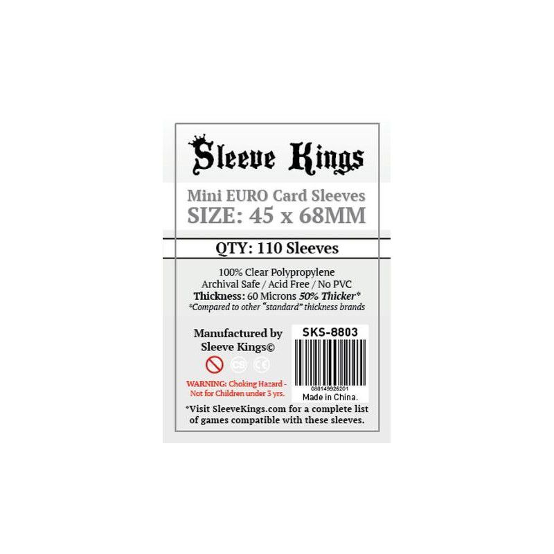 Fundas Sleeve Kings Mini Euro (45 x 68 mm)