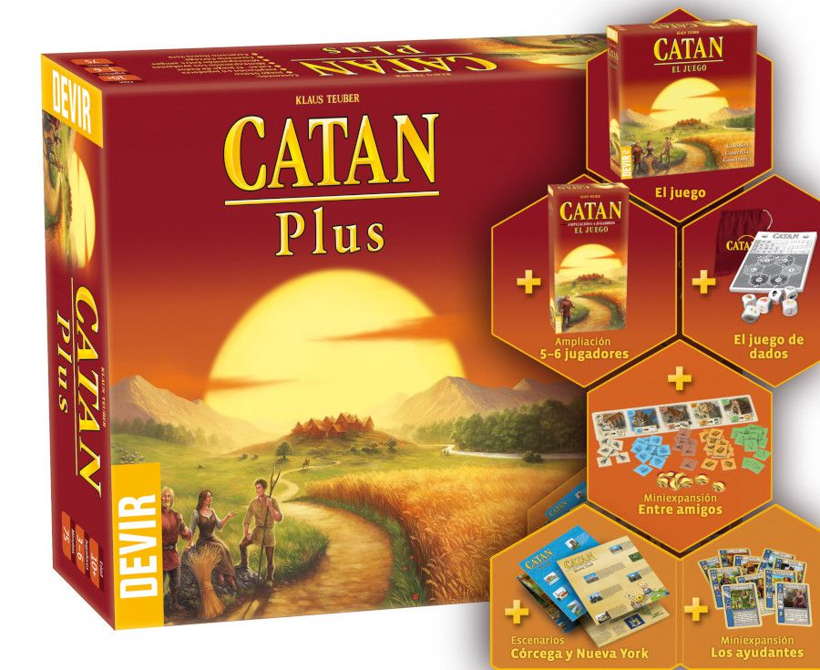 Catan Plus Ed. 2019