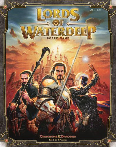 Dungeons & Dragons – Lords of Waterdeep Ed. Inglés